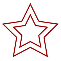 Double Star Stamp