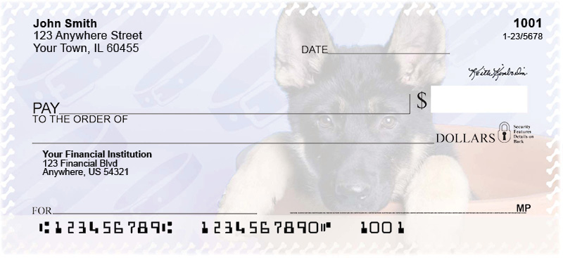 German Shepherd Pups Keith Kimberlin Personal Checks