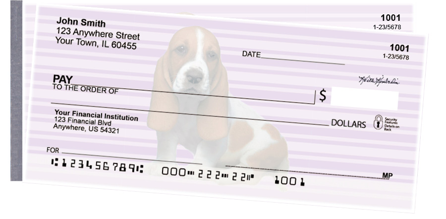 Basset Hound Pups Keith Kimberlin Side Tear Checks