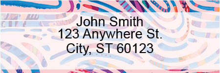 Groovy Arches Address Labels by EttaVee