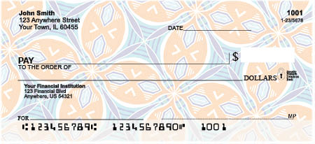 African Abstract Personal Checks by EttaVee
