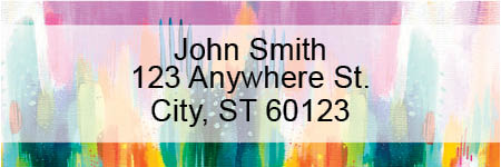 Watercolor Pastel Address Labels by EttaVee