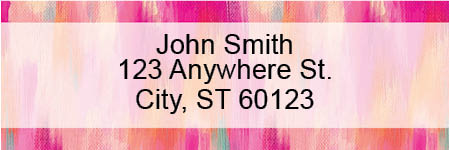 Pretty Pinks Address Labels by EttaVee