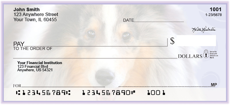 Collie Pups Keith Kimberlin Personal Checks