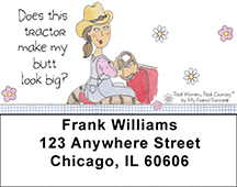 Farm Address Labels by My Friend Ronnie