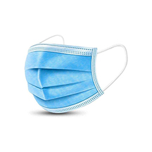Disposable Face Masks, 3-ply