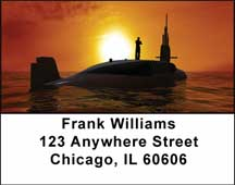 Submarines Address Labels
