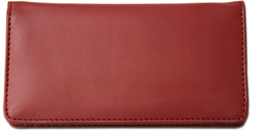 Burgundy Smooth Leather Cover