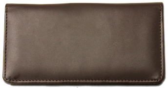 Dark Brown Smooth Leather Cover