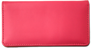 Hot Pink Smooth Leather Cover