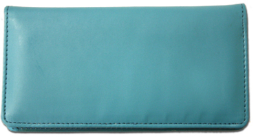 Teal Smooth Leather Cover