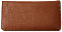 Brown Textured Leather Cover