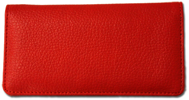 Red Textured Leather Cover