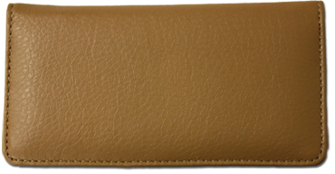 Tan Textured Leather Cover