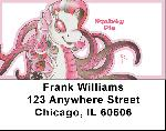 Pinks Mix - My Little Demon Address Labels