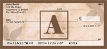 Monogram Letter A Simplistic