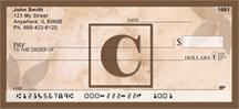 Monogram Letter C Simplistic