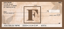 Monogram Letter F Simplistic