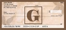 Monogram Letter G Simplistic