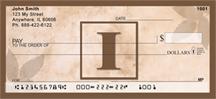 Monogram Letter I Simplistic