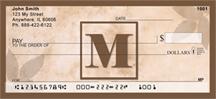 Monogram Letter M Simplistic