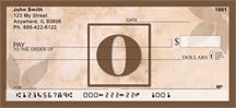 Monogram Letter O Simplistic