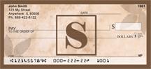 Monogram Letter S Simplistic