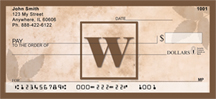 Monogram Letter W Simplistic