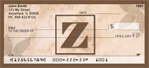 Monogram Letter Z Simplistic