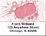 Stylish Monogram J Address Labels