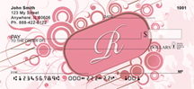 Stylish Monogram R Personal Checks