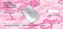 Dog Tag Monogram I Personal Checks