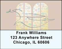 Peace Address Labels