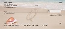 Monogram Letter Q Sand Written
