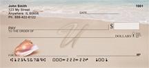 Monogram Letter U Sand Written
