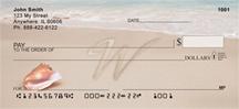 Monogram Letter W Sand Written
