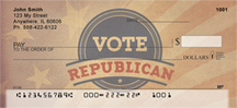 Vote Republican Personal Checks