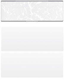 Grey Marble Blank Stock for Computer Voucher Checks Top Style $ 11.99