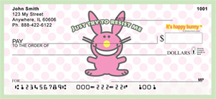 It's Happy Bunny Girly Personal Checks