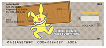 It's Happy Bunny Not-So-Guilty Pleasures Personal Checks $ 12.99