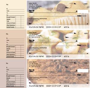 Bakery Designer Deskset Checks