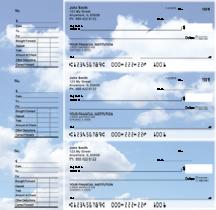 Clouds Designer Deskset Checks