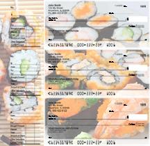 Japanese Cuisine Designer Deskset Checks