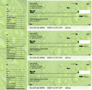 Leaf Designer Deskset Checks