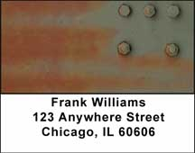 Camo Rivets Address Labels