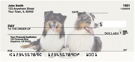 Australian Shepherd Personal Checks