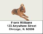Blood Hound Address Labels