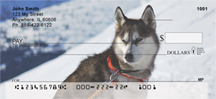 Siberian Husky Personal Checks