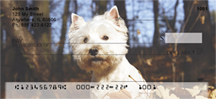 West Highland White Terrier Personal Checks