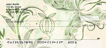 Colorful Collision Personal Checks